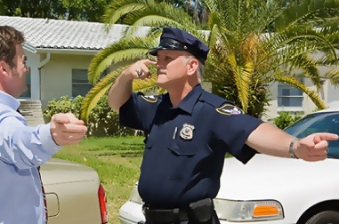 A field sobriety test. Find out what happens when you get a DUI